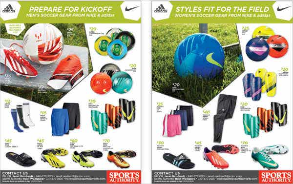 sports authority flyer