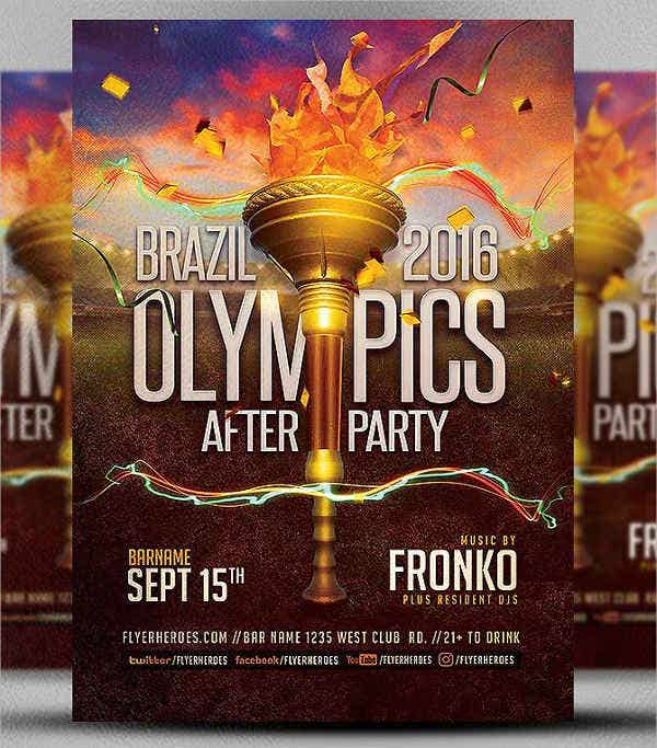 sports-party-flyer