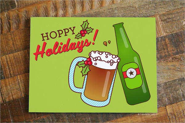 Funny Holiday Greeting Card