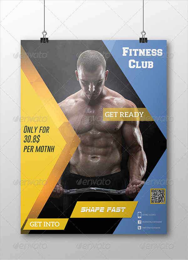 corporate-fitness-flyer