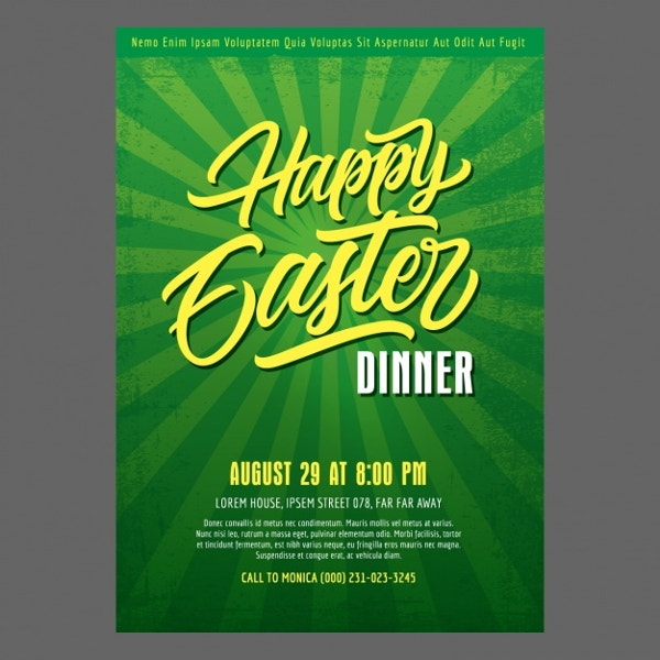 happy-easter-dinner-poster