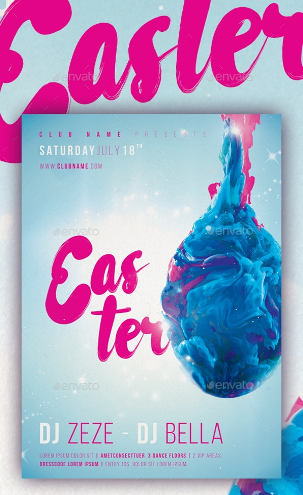 easter-abstract-poster-design-template
