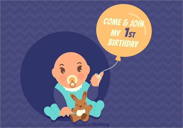 Birthday card designs free premium templates baby birthday greeting card bookmarktalkfo Image collections