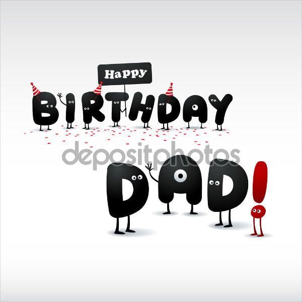 dad birthday greeting card