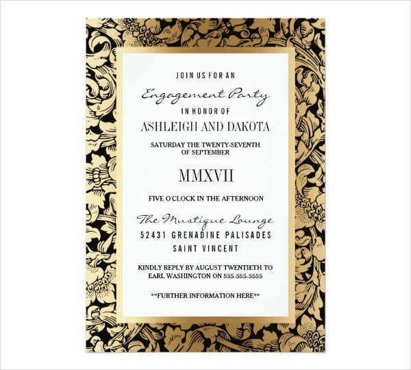 unique engagement invitation card1