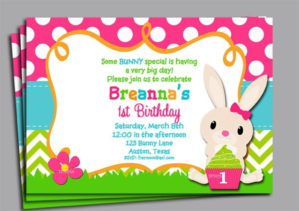 Easter Invitation Templates  Free  Premium Templates