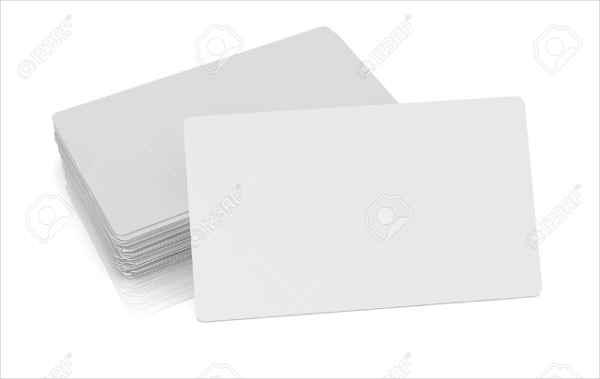 blank custom gift card