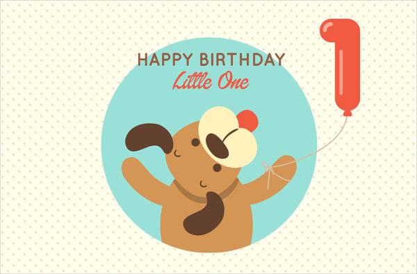 baby dancing birthday card1