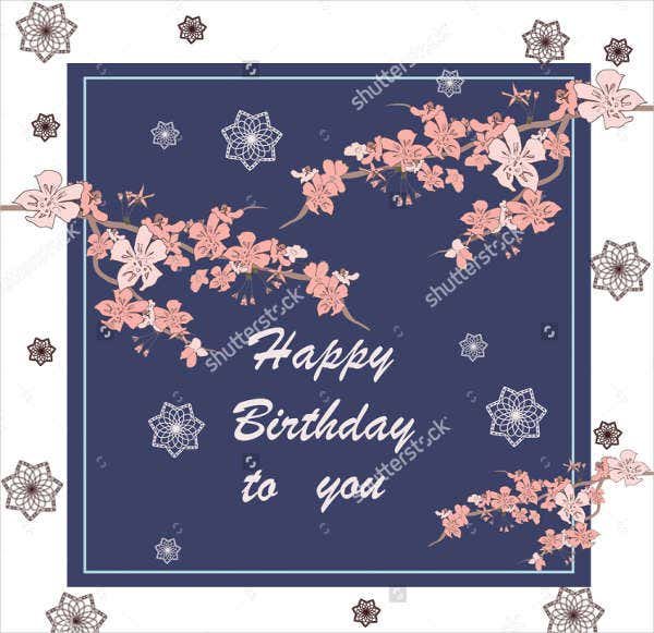 luxury handmade birthday card