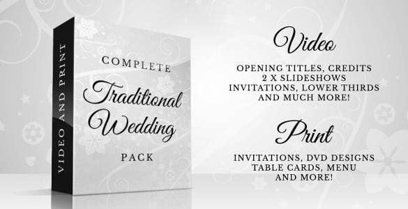 complete traditional wedding pack1 min