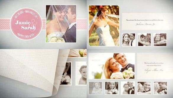 modern wedding photo album min