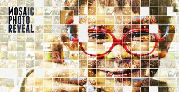 mosaic photo reveal1 min