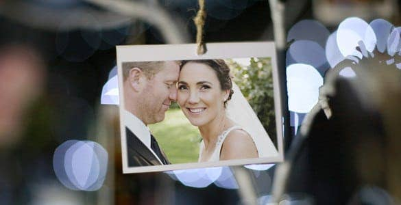 photo gallery at a country wedding1 min
