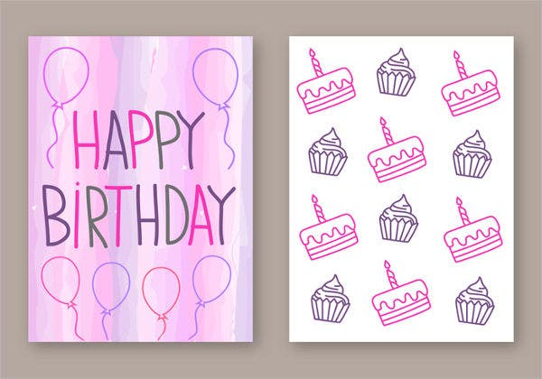 designs of birthday cards