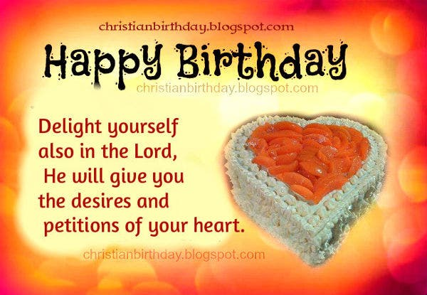 -Christian Boxed Birthday Card