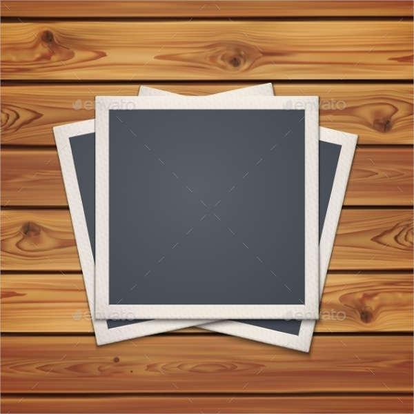 photo frames birthday card