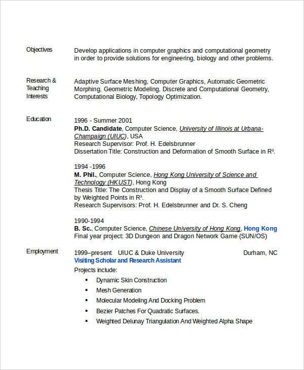 resume of computer science engineer 28 images 54