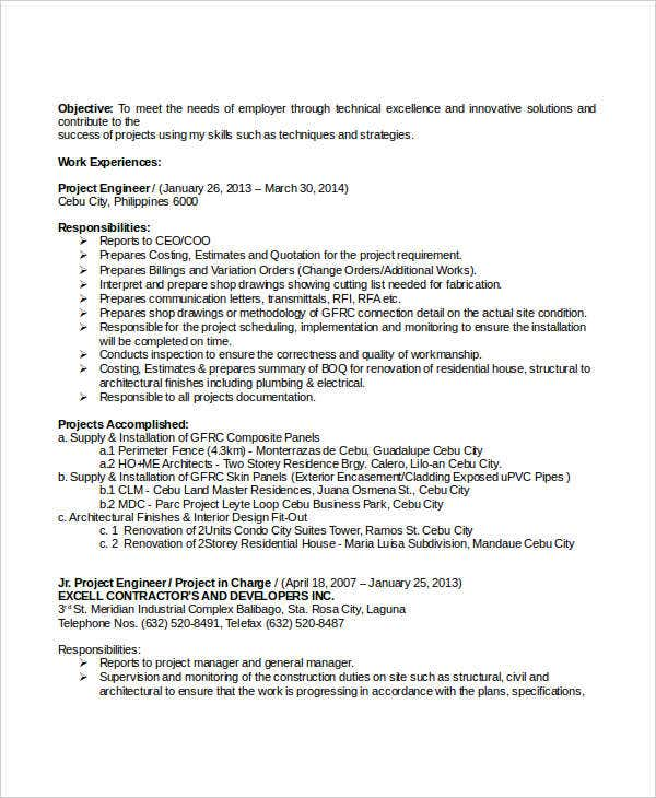 professional civil engineering resume2