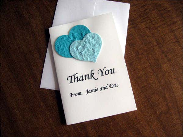 Printable Thank You Greeting Card