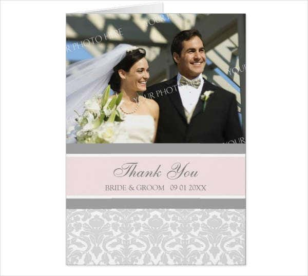 Photo Thank You Greeting Card