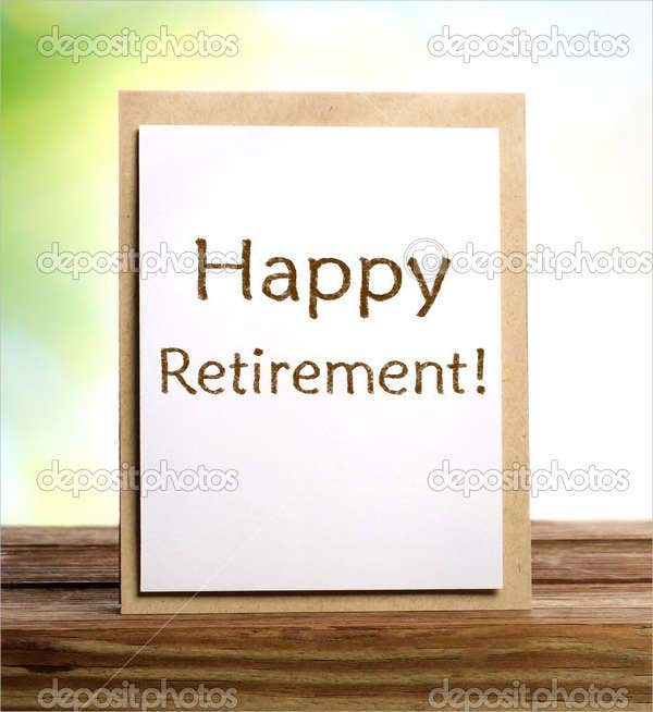 Free Retirement Greeting Card