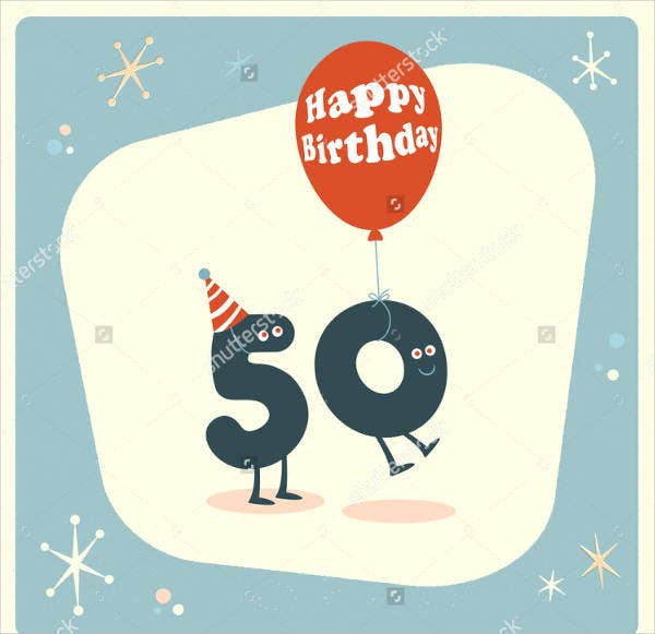 Funny Comments For 50th Birthday Card