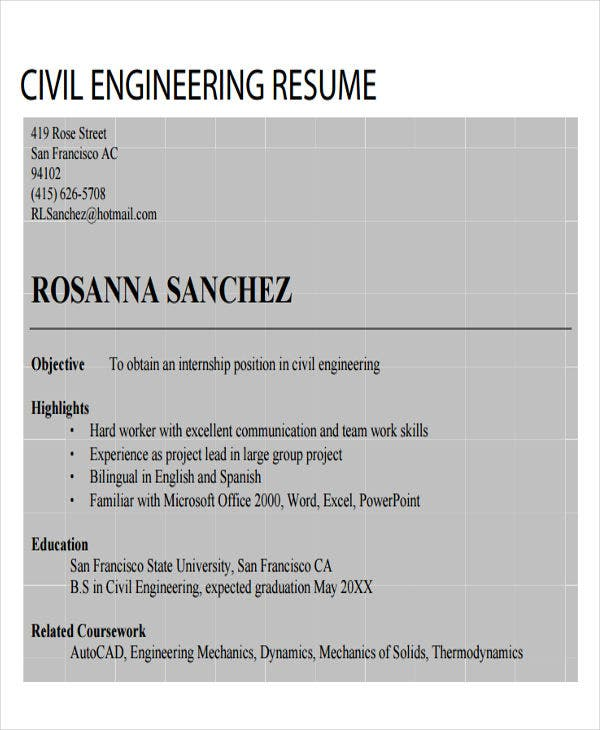 civil engineering resume in pdf3