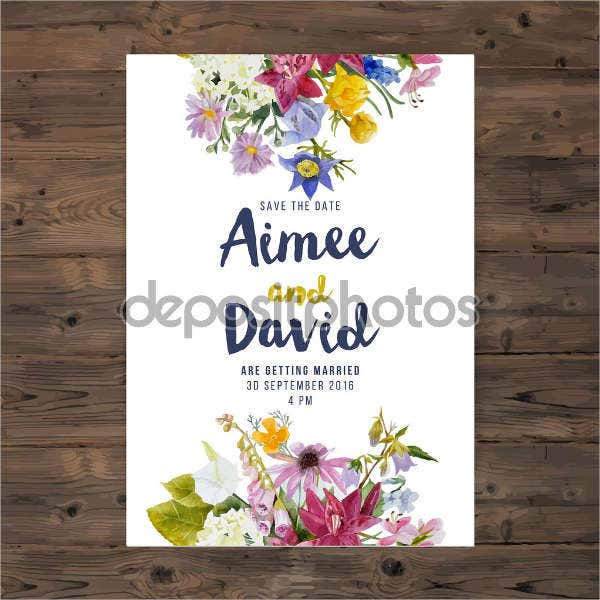 Free Wedding Greeting Card