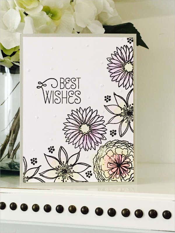 Wedding Wishes Greeting Card