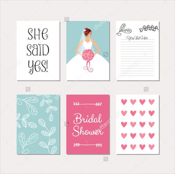 Gift card examples free premium templates for Wedding shower gift list template