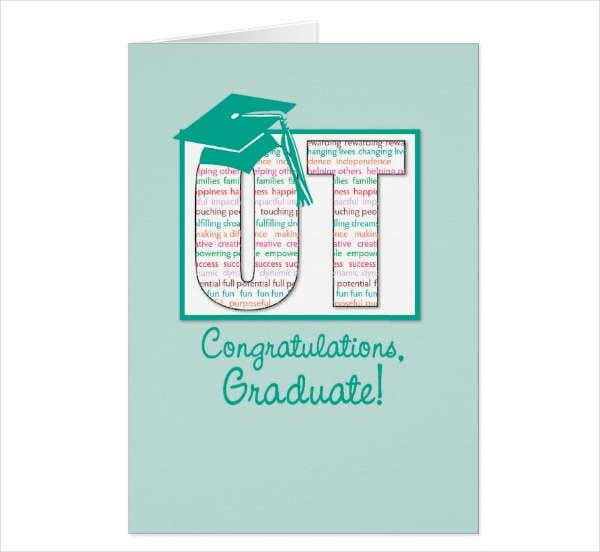 Graduation Congratulations Greeting Card