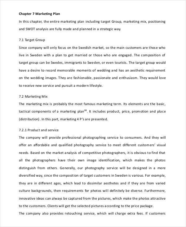 photography business marketing plan3