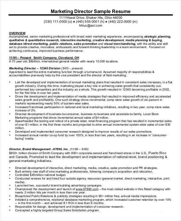 Sample Executive Director Resume | Sample Resume And Free Resume