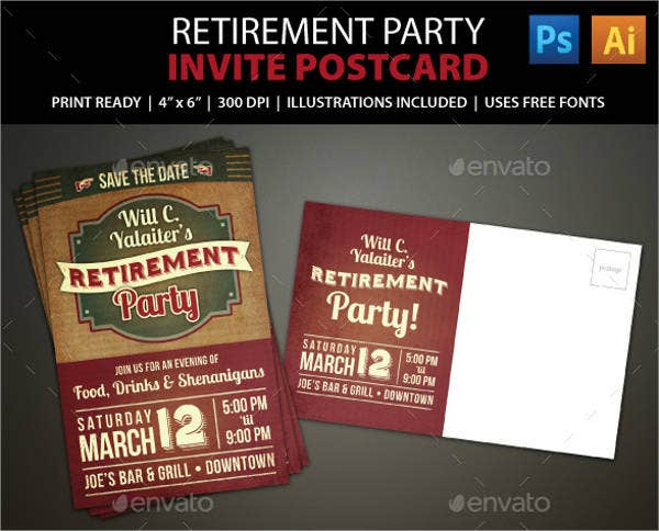 retirement-announcement-party-flyer