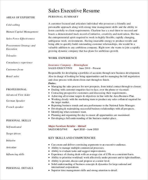 Senior Executive Resume Examples | Resume Format Download Pdf