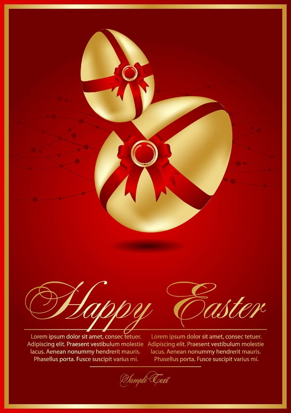 beautiful-easter-card-template