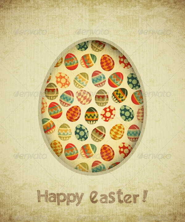 vintage-retro-easter-card-template
