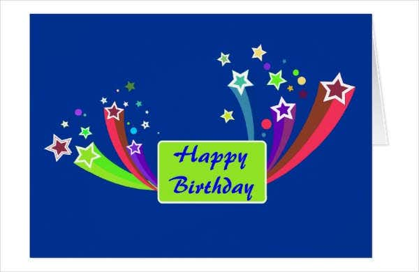 Corporate Birthday Greeting Card