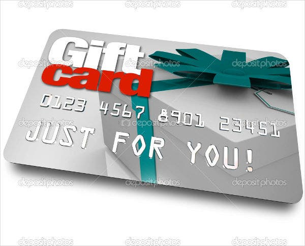 Gift Card Examples Free Amp Premium Templates