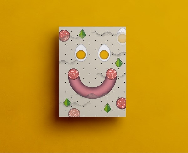 free easter card design