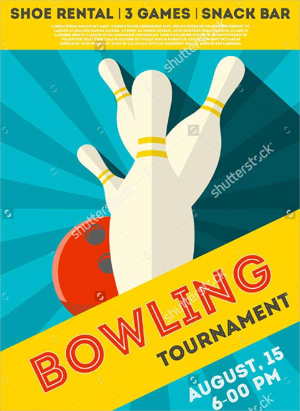 bowling-event-party-flyer