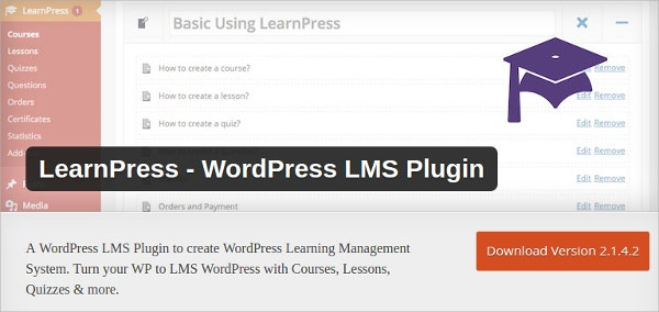 lms wordpress plugin