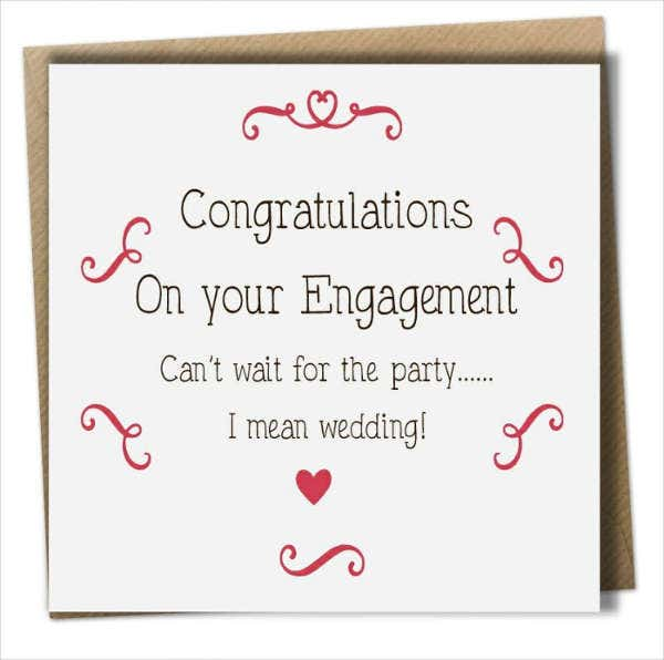 Engagement Party Greeting Card