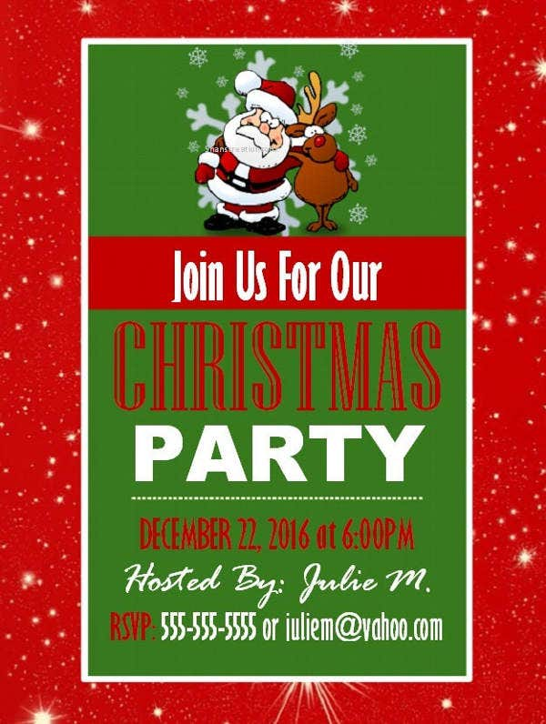 christmas-party-event-flyer