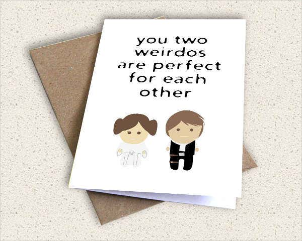 Diy Wedding Greeting Card
