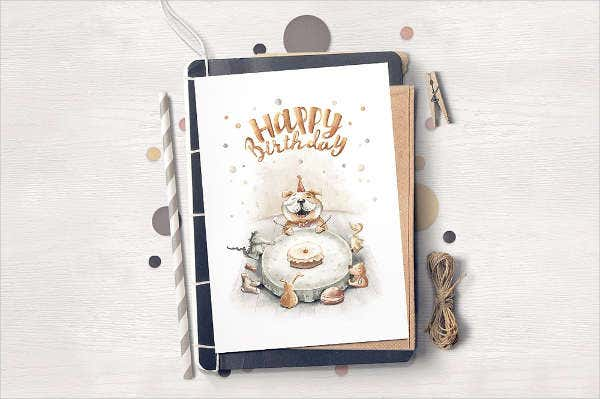 Diy Birthday Greeting Card