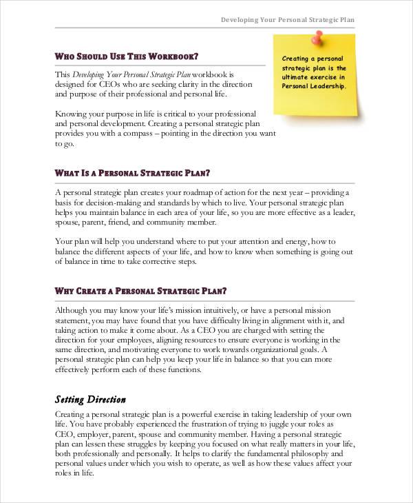 developing a strategic plan template - 44 strategic plan samples free premium templates