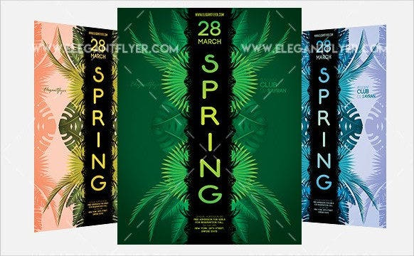 free-spring-event-flyer-template