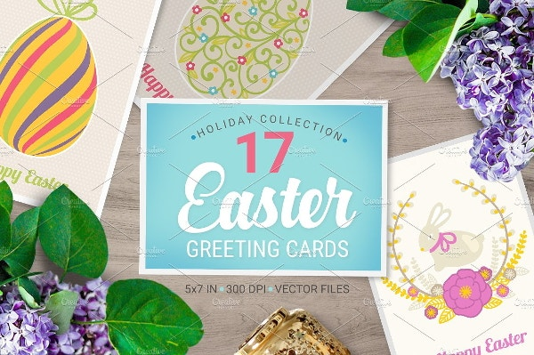 9 Easter Greeting Card Templates – Easter Greeting Card Template
