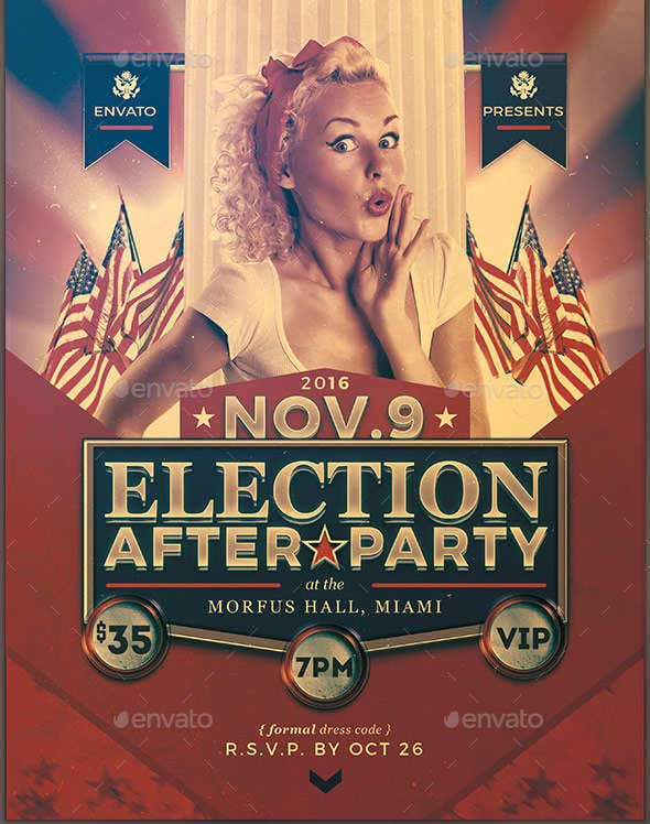 political-party-event-flyer
